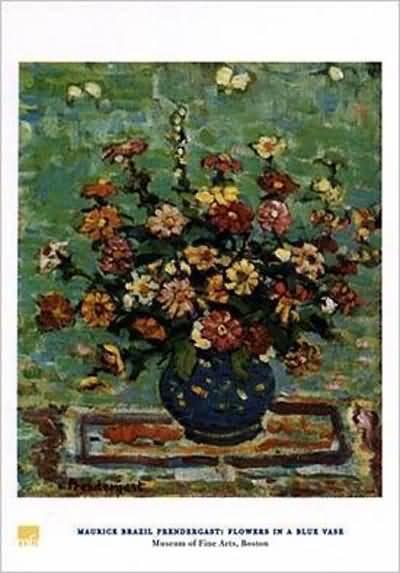 Maurice Prendergast Flowers in a Vase