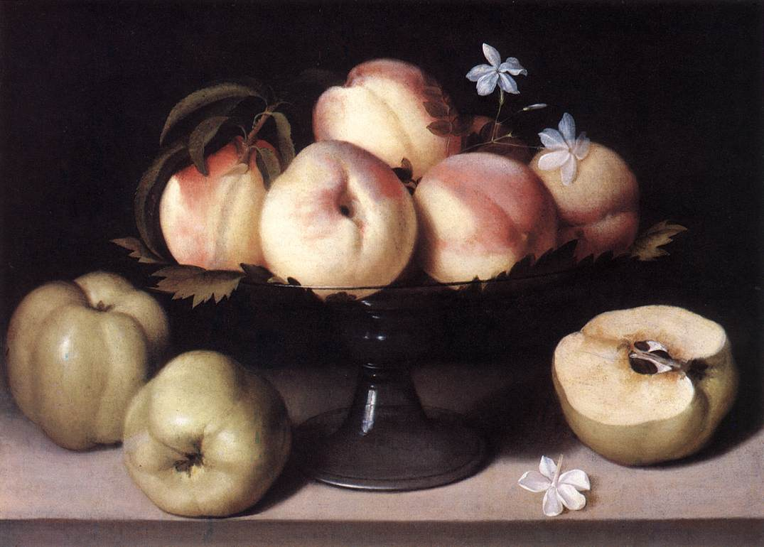 NUVOLONE-Panfilo-Still-life-with-Peaches
