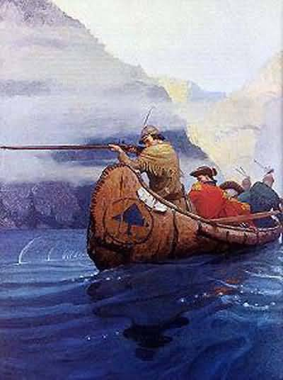 Newell Convers Wyeth The Flight Across the Lake