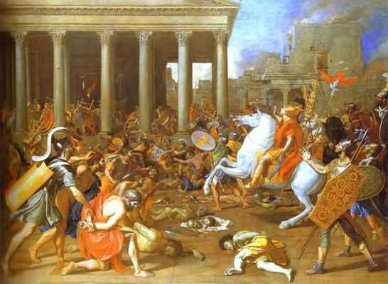 Nicolas Poussin The Destruction of the Temple in Jerusalem