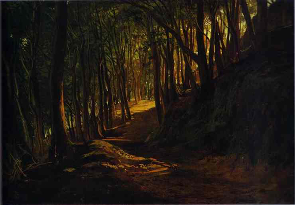 Nikolay Gay Oak Grove at San Terenzo