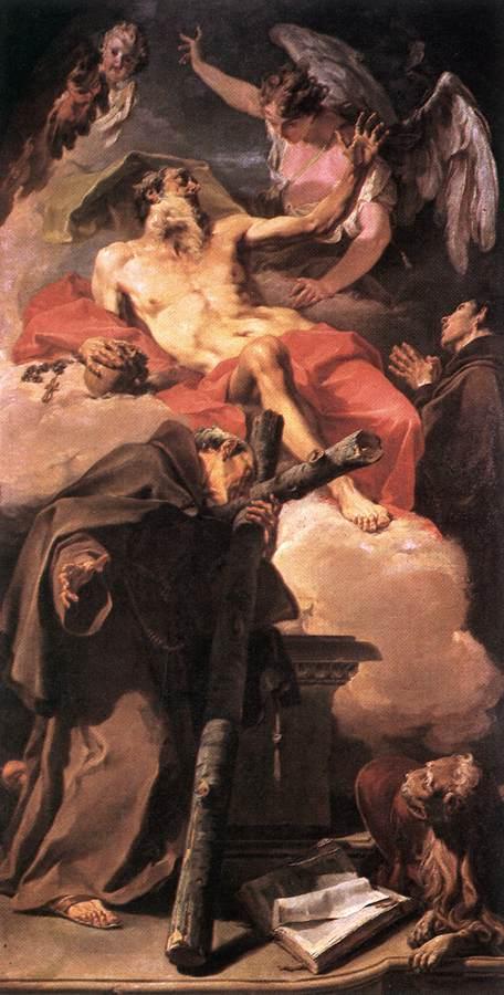 PITTONI Giambattista Sts Jerome and Peter of Alcantara