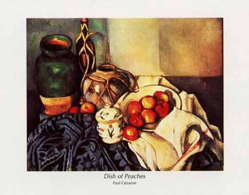 Paul Cezanne Dish of Peaches