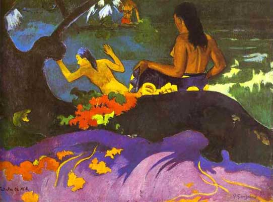 Paul Gauguin Fatata te miti Near the Sea