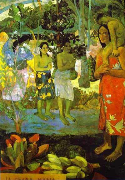 Paul Gauguin Ia Orana Maria Hail Mary