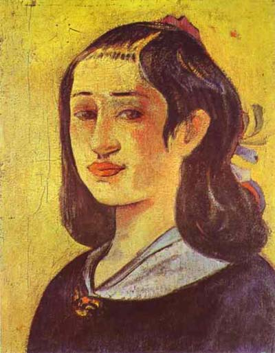 Paul Gauguin Portrait of Mother