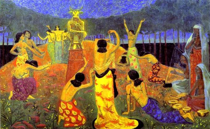 Paul Serusier The Daughters of Pelichtim