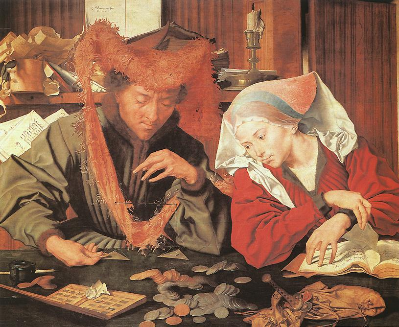 REYMERSWAELE Marinus van Money Changer and his Wife