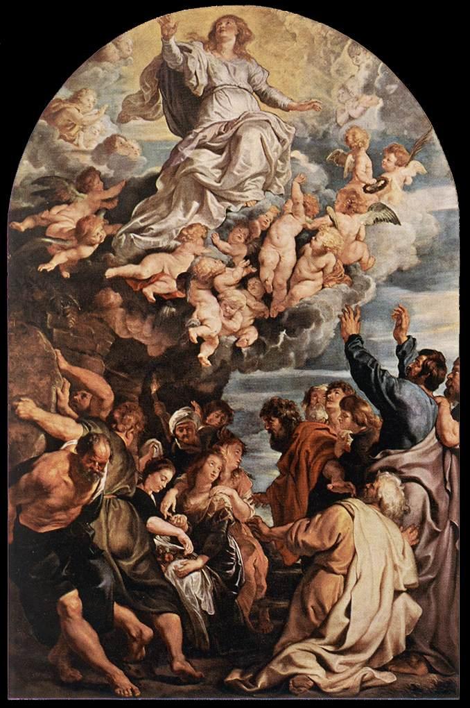 RUBENS Pieter Pauwel Assumption of the Virgin