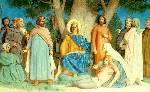 Saint Louis Rendering Justice - Adolphe-William Bouguereau