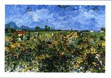 The Green Vineyard - Vincent Van Gogh