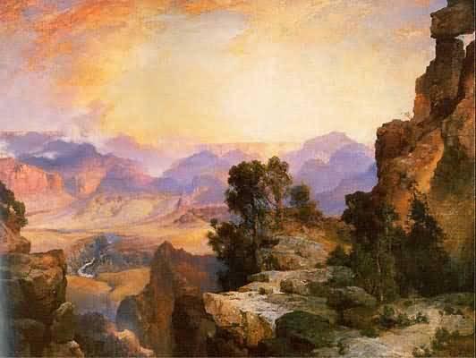 Thomas Moran Grand Canyon of the Colorado