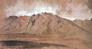 Thomas Moran The Ruby Range Nevada