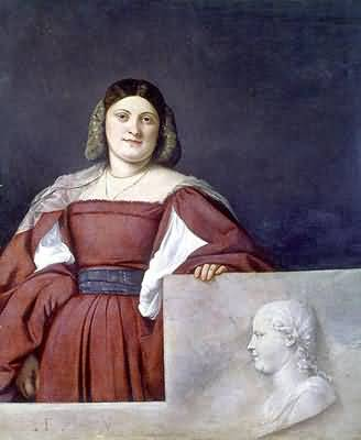 Titian Tiziano Vecellio Man with a Glove