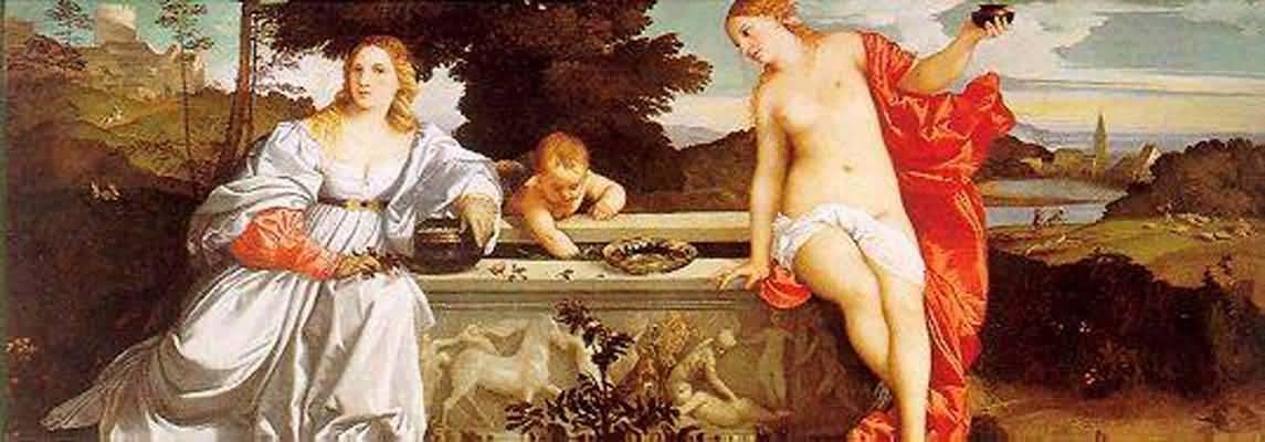 Titian Tiziano Vecellio Sacred and Profane Love