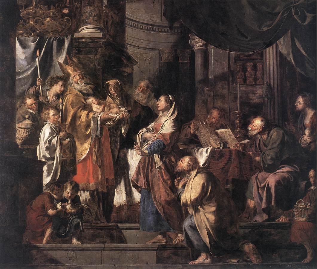 VERHAGHEN Pieter Jozef The Presentation in the Temple