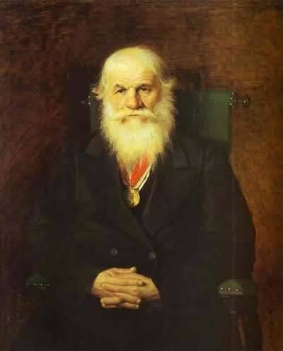 Vasily Perov Portrait of the Merchant Ivan Kamynin
