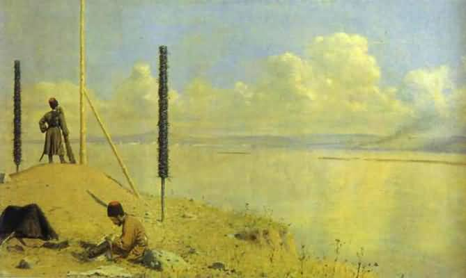 Vasily Vereshchagin Picket on the Danube