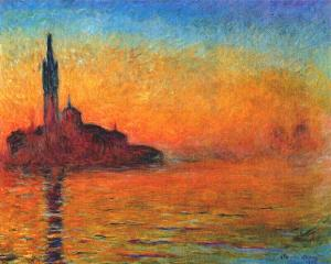 Venice at dusk 1908 - Claude Monet