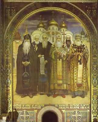 Victor Vasnetsov Russian Bishops