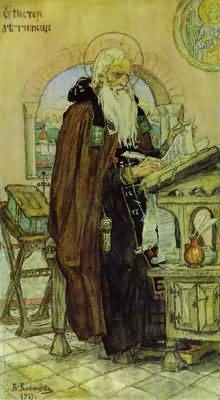 Victor Vasnetsov The Chronicler Nestor