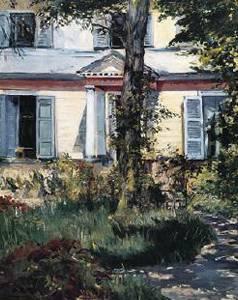 Villa at Rueil - Edouard Manet