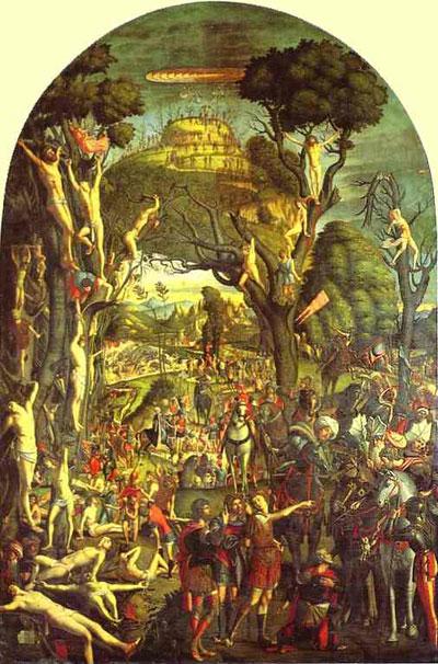 Vittore Carpaccio The Ten Thousand Crucifixions of Mount Ararat
