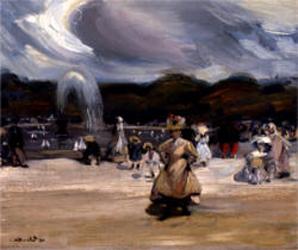 William Glackens Philadelphia Landscape