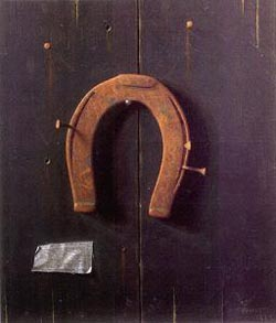 William Harnett The Golden Horseshoe