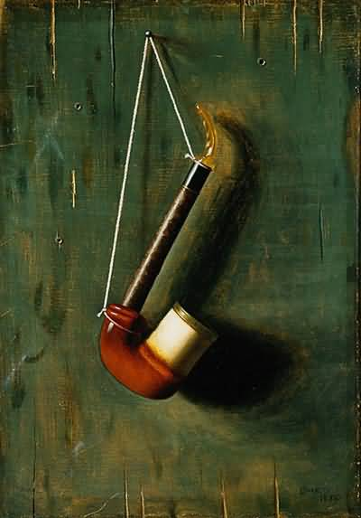 William Harnett The Meerschaum Pipe