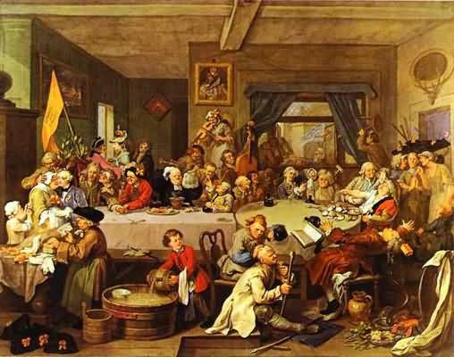 William Hogarth An Election Entertainment