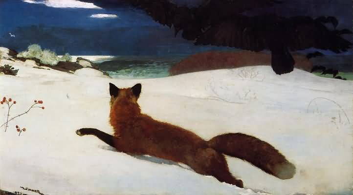 Winslow Homer The Fox Hunt