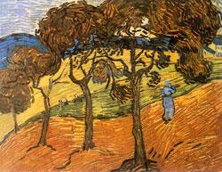 Landscape with Figures - Vincent Van Gogh