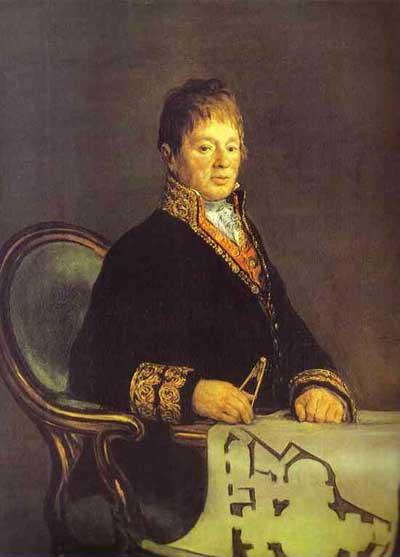 Francisco de Goya y Lucientes Portrait of Juan Antonio Cuervo