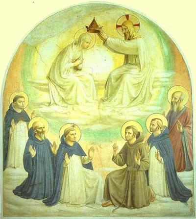 Fra Angelico Coronation of the Virgin
