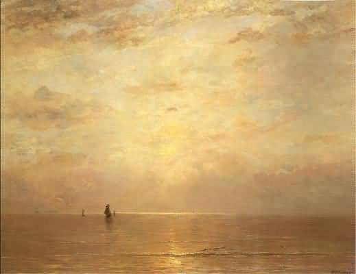 Hendrik Mesdag Setting Sun