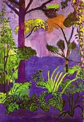 Henri Matisse Moroccan Landscape Acanthus
