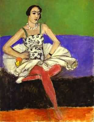 Henri Matisse The Ballet Dancer La danseuse