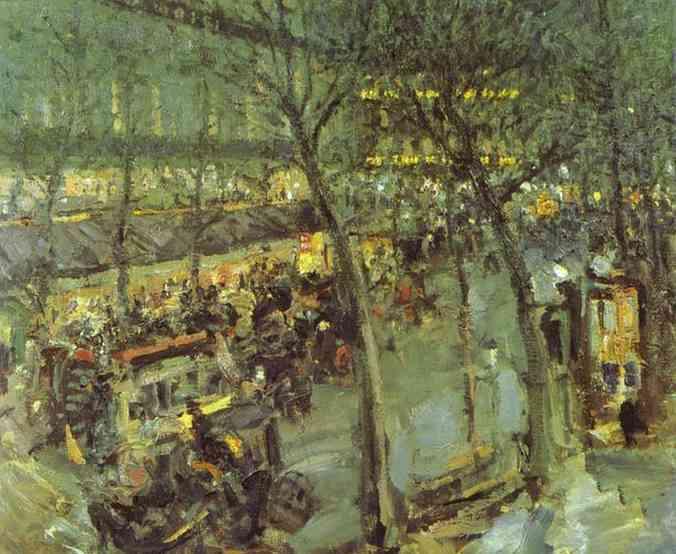 Korovin Constantin Paris Cafe de la Paix