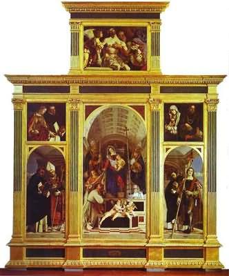 Lorenzo Lotto St Dominic Polyptych
