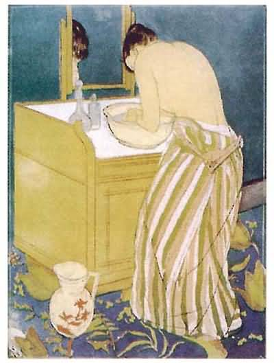 Mary Cassatt Woman Bathing