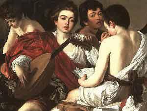 Michelangelo Merisi da Caravaggio Concert
