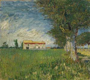 The Farm, Auvers 1890 - Vincent Van Gogh
