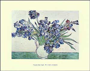 Vase Of Irises - Vincent Van Gogh