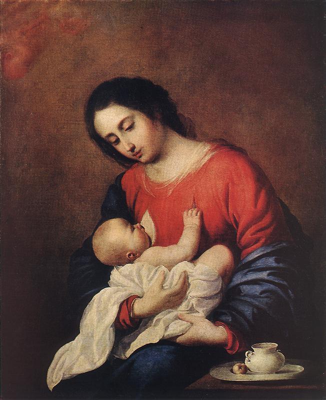 ZURBARAN Francisco de Madonna with Child