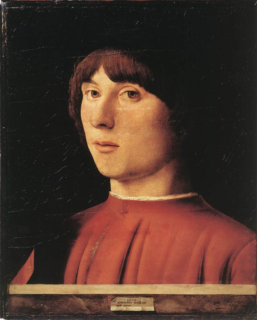 ANTONELLO da Messina Portrait of a Man 2