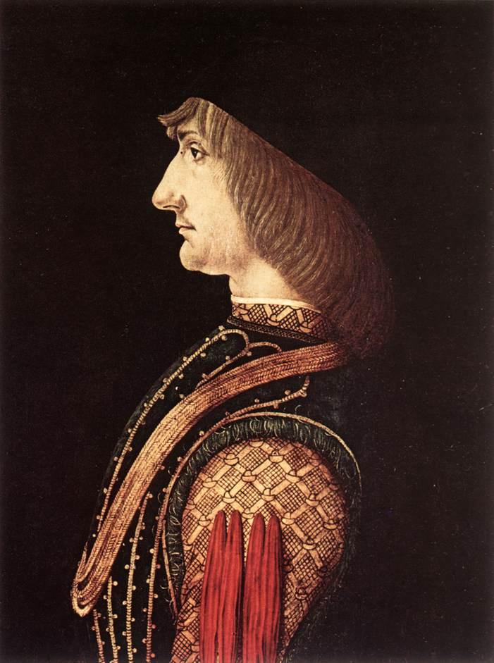 PREDIS Ambrogio de Portrait of a Man