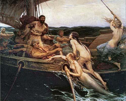 Duccio di Buoninsegna Herbert James Draper Ulysses and the Sirens