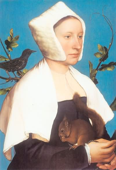 Hans Holbein the Younger Portrait of a member of the Wedigh Family 1532