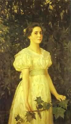 Victor Vasnetsov Portrait of Vera Mamontova